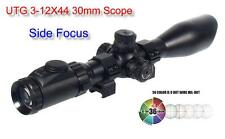 UTG Leapers 30mm Swat 3-12X44 Fs Ie Ao Mil Dot EZ-TAP Scope SCP3-U312AOIEW