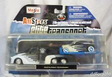 Missle Tow Flatbed/1932 Ford Roadster 1:64 Scale Diecast From AllStars by Maisto
