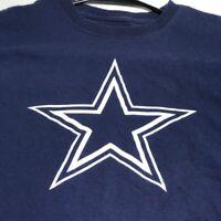Dallas Cowboys NFL Football Women's Short Sleeve T Shirt Small S Blue White Crew