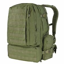 Condor - Tactical 3 Day Assault Backpack - OD Green - Molle II Webbing #125