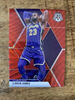 LEBRON JAMES *2019-20 Mosaic Red Wave TMall Lakers SSP