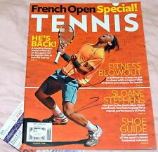 RAFAEL NADAL Signed TENNIS Magazine French Open Special *JSA COA *RAFA