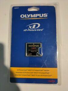 Genuine Olympus MACF-10 xD-Picture Card to CF Memory Card Adapter 200837
