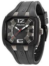 Police 13889JPBU/61 Detonator Gents Date Analogue Watch, 2Yr Guar RRP £115