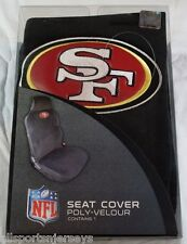 NFL NIB CAR SEAT COVER BY FREMONT DIE - SAN FRANCISCO 49ERS