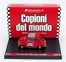 FIAT NUOVA 500 1959 COPIONI DEL MONDO 1/43 ZB02C BRUMM