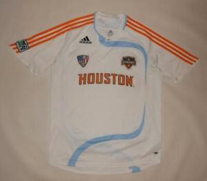 AWAY SHIRT ADIDAS HOUSTON DYNAMO 2007 (L) Jersey Trikot Maillot Maglia Camiseta