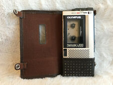 Olympus Microcassette Tape Recorder Pearlcorder L200 Cassette Player NOT WORKING