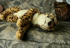 Fao Schwarz Cheetah Stuffed Plush Big Stuffed Animal