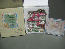 "Cherished Teddies ""Our Cherished Neighbearhood"" Christmas Decorated House 352667"
