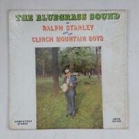 RALPH STANLEY CLINCH MOUNTAIN BOYS Bluegrass Sound JLP120 LP Vinyl VG Cvr Shrink