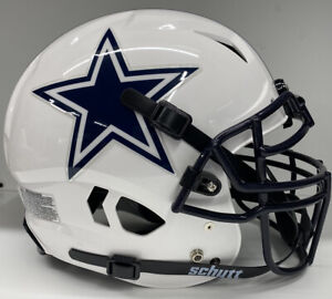 Cowboys Custom Full Size Authentic Schutt Vengeance Football Helmet NEW!!