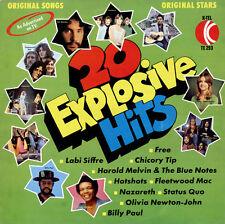 VARIOUS 20 Explosive Hits 1973 UK vinyl LP EXCELLENT CONDITION RECORD
