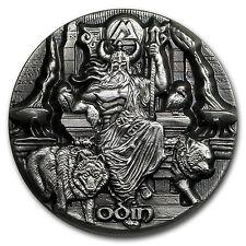 2016 Tokelau 3 oz Silver Max Relief (Legends of Asgard, Odin) - SKU #149416