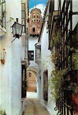 Spain Pueblo Espanol (Barcelona) Calle Arcos, Rue Aros, Arch Street (Andalucia)