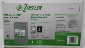 Well Pump 1 HP Control Box Zoeller Model: 1010-2338 NEW - FREE SHIPPING