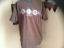 Costa Rica Pura  Vida Brown T Shirt.
