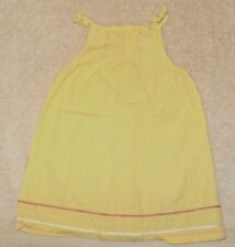 EUC Gymboree Pina Colada Yellow Dress Size 9-12 9 12 Months