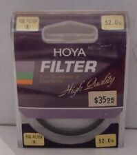 Hoya Fog Filter (B) Filter 52mm Filter +Product Case - NEW - Made in Japan