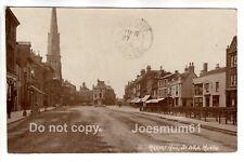 1919 RPPC Market Hill, St. Ives, Huntingdonshire.