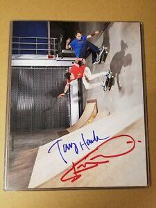 Tony Hawk & Steve-O Autographed Signed 8x10 Skateboard Photo SOLD OUT LIMITED ED