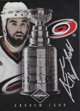 11-12 Limited Andrew Ladd /99 Auto Stanley Cup Signatures 2011