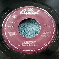 The Beatles - Day Tripper/We Can Work It Out 45 Capitol X-6293 purple Starline