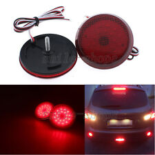 2 LED Rear Bumper Reflector Light Lamp Set for Scion xB iQ Toyota Sienna Corolla