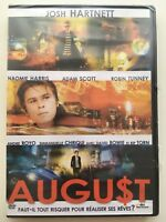 August DVD NEUF SOUS BLISTER Josh Hartnett, Naomie Harris, David Bowie