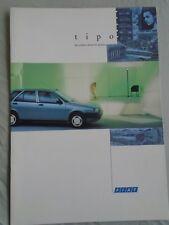 Fiat Tipo range brochure Oct 1992