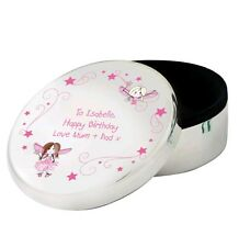 Personalised Jewellery Trinket Box Tooth Fairy Box Girls Birthday Gift Idea