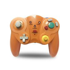 Orange Wireless Controller Gamepad for Nintendo GameCube NGC 2.4G Game Console