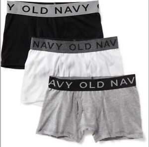 OLD NAVY Boxer-Briefs 3-Pack for Boys, Size Small (6-8 years old), NWT!