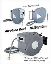 Dévidoir de tuyau à air comprimé 10m/20m/30m Automatique Enrouleur pneumatique