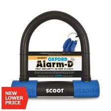 Oxford Alarm-d Lock SCOOT Heavy Duty High Securuity Motorcycle Alarm D-lock 16mm