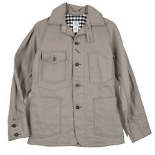 New $495 POST OVERALLS Engineer's Jacket with Flannel Cotton Lining S O'alls