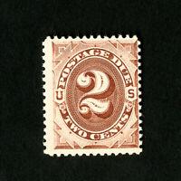US Stamps # J16 F-VF OG NH Catalog Value $225.00