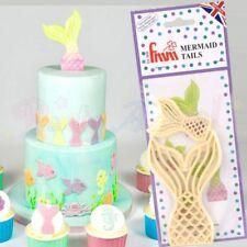 FMM Sugarcraft-Sirena Tails-Pasta di Zucchero, Decorazione per Torta Cutter Set
