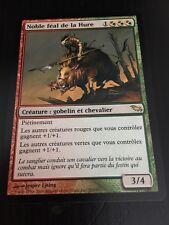 MTG MAGIC SHADOWMOOR BOARTUSK LIEGE (FRENCH NOBLE FEAL DE LA HURE) NM