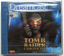 TOMB RAIDER CHRONICLES SEGA DREAMCAST PAL ENGLISH VERSION