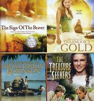4 PG family adventure movies, new DVDs, Beaver, Tillamook's Gold, Swiss Robinson