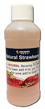 Brewers Best Natural Strawberry Flavoring Extract for Beer & Wine