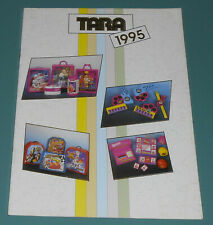 Vintage 1995 TARA TOY Catalog Batman Barbie Spiderman VR Troopers X-Men Camping