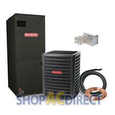 3 Ton 14 SEER Goodman Heat Pump Split System GSZ140361 ARUF37D14 50' lineset