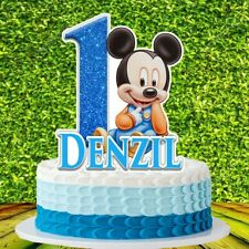 Mickey Mouse Baby Cake Topper
