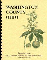 OH Washington County Ohio History: Howe & Others Marietta College Fort Harmar