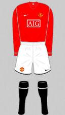 Boys Football Shirt & Shorts Kit - Manchester United - Home 2007 - Nike - RARE M