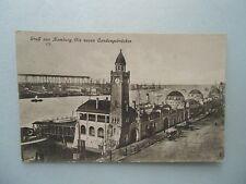 Ansichtskarte Hamburg Die neuen Landungsbrücken (Nr.606)