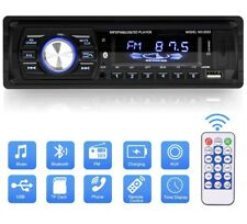 Multimedia Car Stereo Single Din LCD Bluetooth Car Audio FM Radio Player USB