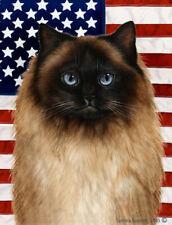 New listing Patriotic (2) Garden Flag - Himalayan Cat 329521